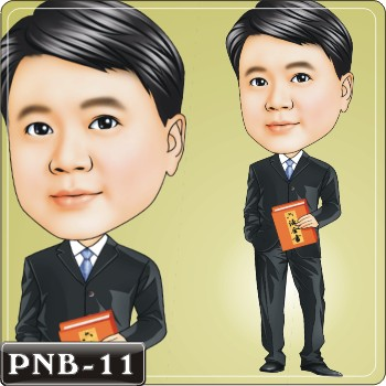 男生人像Q版漫畫PNB-11